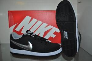 Nike Prestige IV Mens Skate Shoes 488428 099 Black/Silver NIB See Sizes