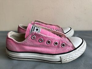 cbcb835fdb6 Converse All Star Low Tops pink Canvas casual shoes - Size US 12 ...