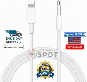 Lightning-to-3-5mm-AUX-Audio-Car-Adapter-Cord-For-iPhone-7-8-Plus-11-X-S-XR-XS