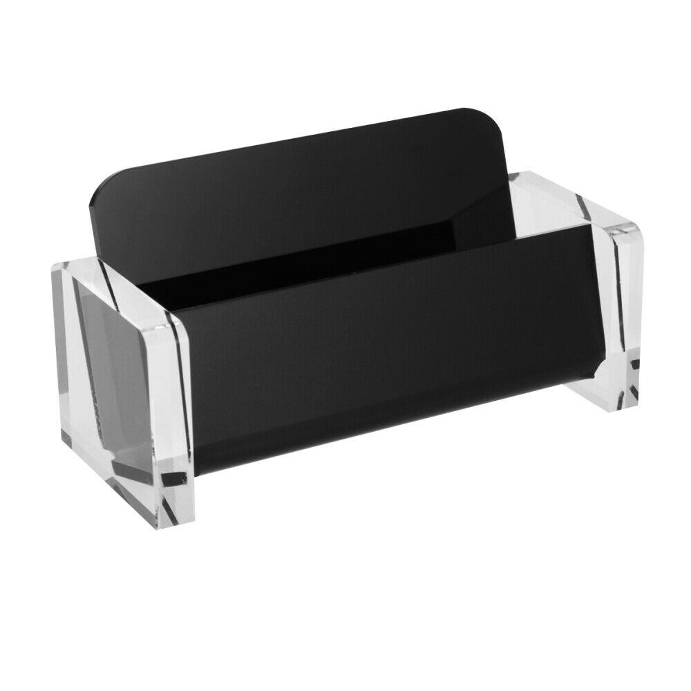 1Pcs Card Holder Multifunctional Plastic Note Display Stand for Office Home