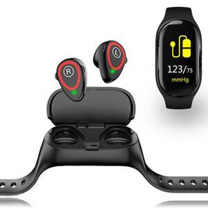 Fashion-Fitness-Tracker-amp-Smartwatch-pression-sanguine-rythme-cardiaque-Podometre
