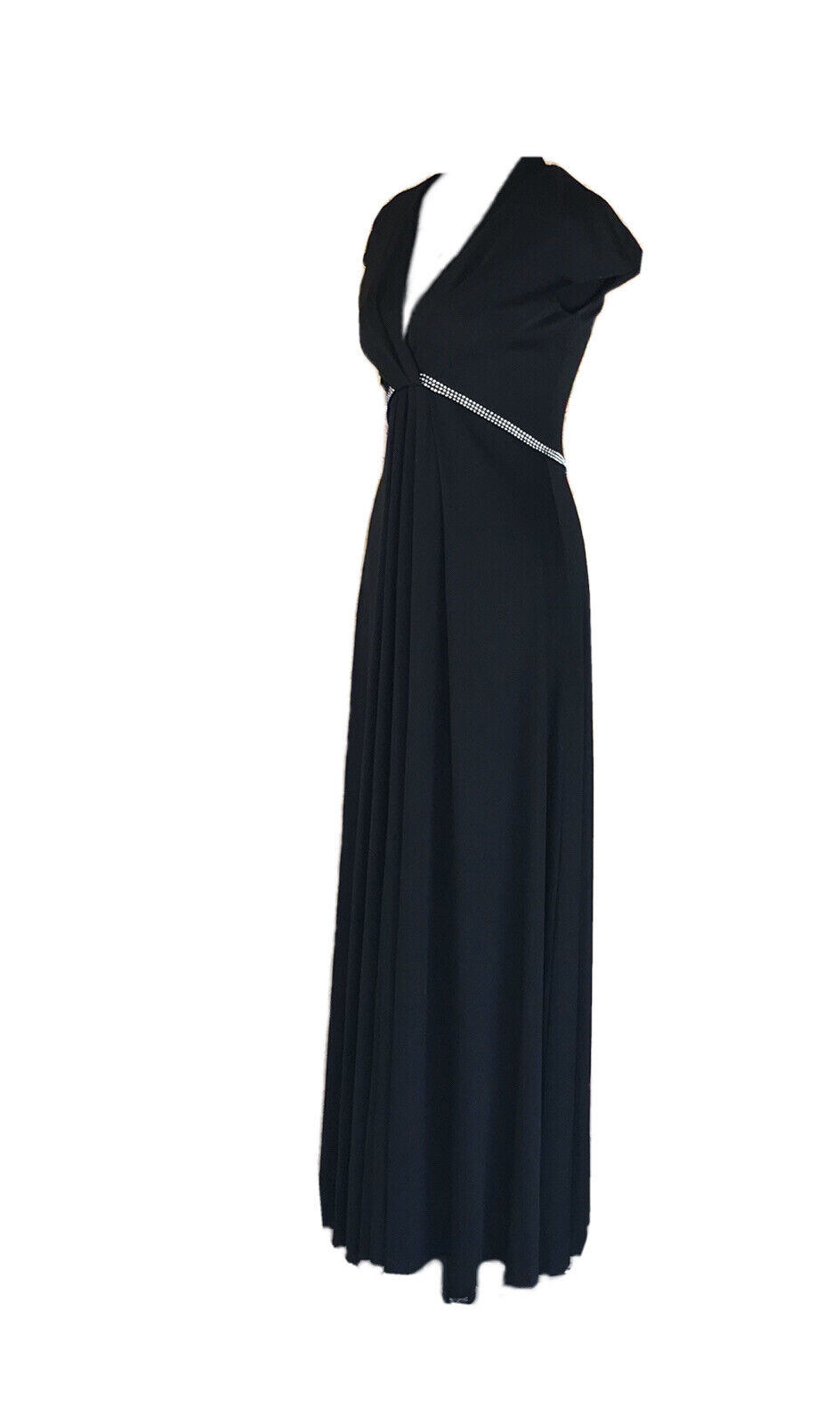 Vintage Luis Estevez Dress Eva Gabor Look Label B… - image 8