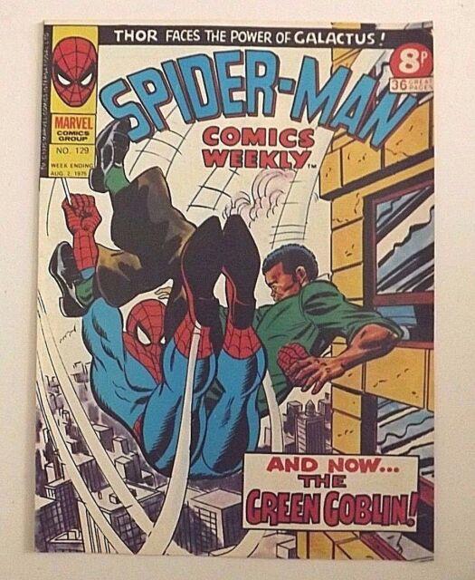 Spider-Man Comic Weekly No.129, week ending August 2nd, 1975