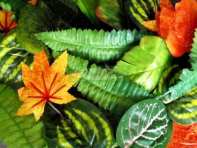 Assorted Artificial Leaves - Pack of 100
