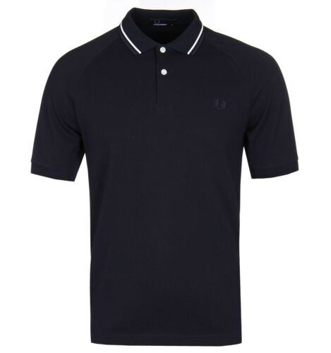 BNWT Fred Perry M3609 Polo Shirt Twill Collar Navy XL RRP £60 Tipped Collar 608