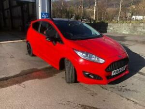 2016 Ford Fiesta 1.0 EcoBoost 140 Zetec S Red 3dr HATCHBACK Petrol Manual