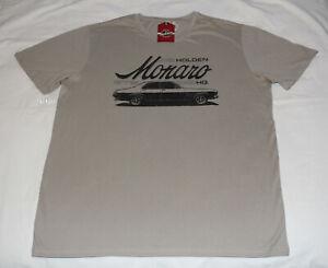 Holden-HQ-GTS-Monaro-Mens-Stone-Printed-Short-Sleeve-T-Shirt-Size-3XL-New