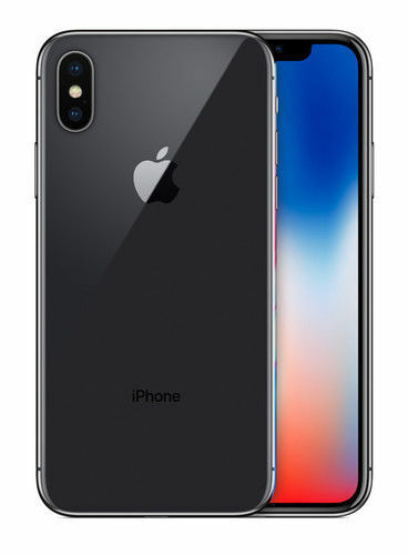 Apple iPhone (TEN) X - 256GB - Space Gray (Unlocked) Smartphone