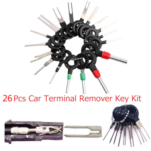 18x CAR Wire Terminal removal tools kit wear resistance HOT pin Extractor Puller