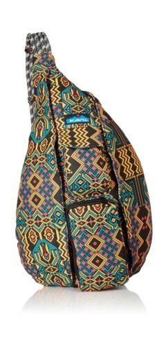 KAVU Women/'s Rope Bag One Size Pixel Palace