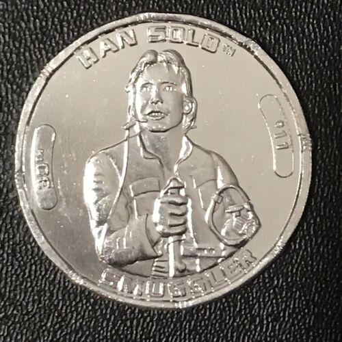 Star Wars 30th Han Solo Gold /& Silver Coin Lot contrebandier Millennium Falcon pilote