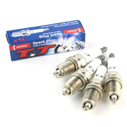 4x pour bmw 1 série E87 116i genuine denso twin tip tt spark plugs