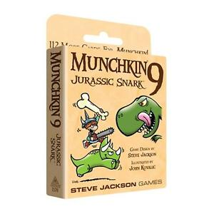 Munchkin-9-Jurassic-Snark-112-Card-Game-Expansion-Steve-Jackson-Games-Booster