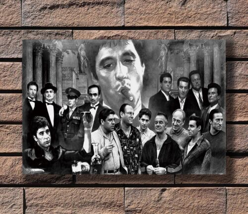ZA292 Gangsters Godfather Goodfellas Scarface Sopranos Poster Hot 40x27 36x24 in