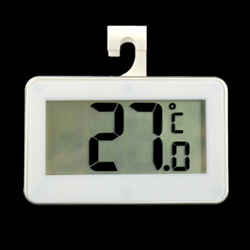 For Room Fridge Freezer Electronic Digital LCD Hook Hanging Thermometer