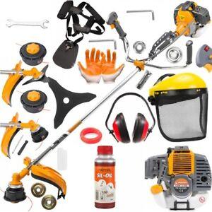6HP-Petrol-Brushcutter-Strimmer-Metal-Blade-Garden-Lawn-Accessories