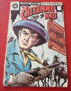 Soft-Cover-French-Heritage-Comic-Cheyenne-Kid-No-10