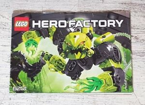 Lego Hero Factory 6201 Toxic Reapa Instructions Manual Only