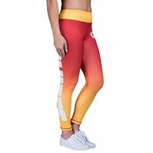 bc3dcfb9 Details about Forever Collectibles NFL Womens Kansas City Chiefs Gradient  2.0 Wordmark Legging