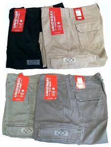 3ffe156c4c NWT Unionbay Men's Flex Waist 98% Cotton Cargo Shorts - Color and ...
