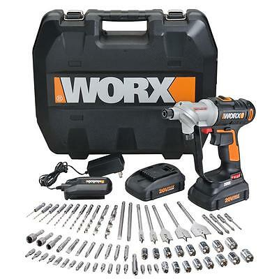 WX176L.1 WORX 67 pc. 20V Lithium Switchdriver Cordless Drill & Driver