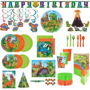 Dinosaur Birthday Party Supplies Boys Childrens Tableware Decoration Accessories