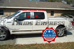 2015-2020-Ford-F-150-Super-Crew-Cab-w-Cutout-Chrome-Pillar-Post-Trim-Stainless