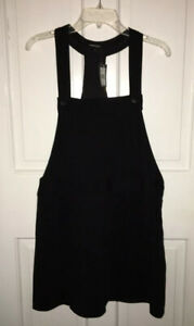 NWT-Nanette-Lepore-noir-black-Bananarama-ponte-knit-Jumper-Dress-size-12