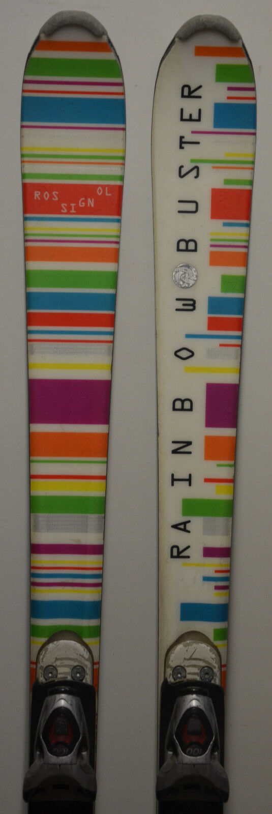 Esquí parabólico para mujeres rossinol arco iris Buster - 63 pulgadas.