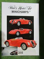 Catalogue Minichamps Résine 2014