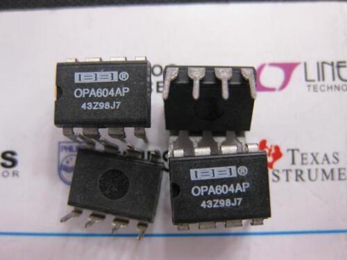 1x OPA604AP  Low Distortion OPERATIONAL AMPLIFIER  OPA604