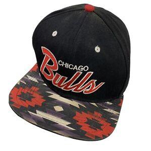Chicago Bulls Basketball Mitchell & Ness Ball Cap Hat Snapback Baseball