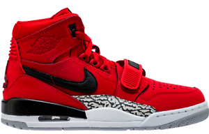 b5d82d952ae5 Nike Air Jordan LEGACY 312 TORO Varsity Red black white Mens shoe ...