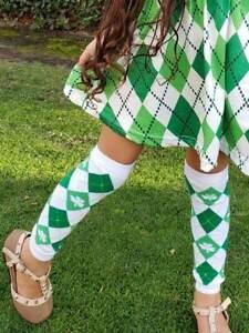 Girl Shamrock St Infant One Size Patricks Day Irish Toddler Boy Baby Leg Warmers Leggings