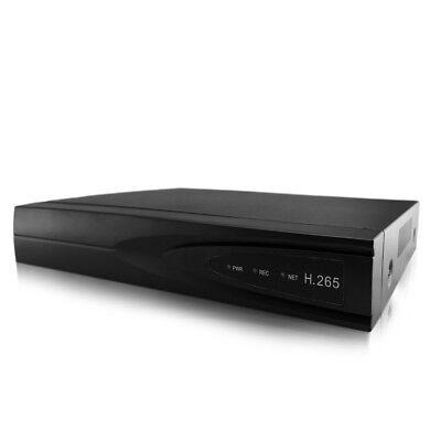 8CH POE NVR 5MP H.265 Network Video Recorder Audio Onvif P2P Remote View HDMI