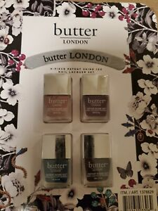 Butter London 4 Piece Patent Shine Nail Lacquer Set 10 X New Value Pack Ebay