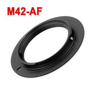 M42-AF-Mount-Adapter-Ring-fuer-M42-Objektiv-fuer-Minolta-AF-amp-Sony-Alpha-UK-Verkaeufer
