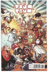 Tsum-Tsum-3-Marvel-2016-NM-1-25-Cory-Smith-Variant-Venom-Spider-Man