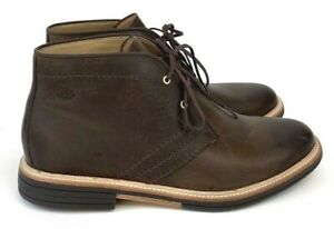 05d090e1642 Details about UGG Dagmann Men's Leather Grizzly / Brown Lace-up Ankle Boots  9.5, 1018684