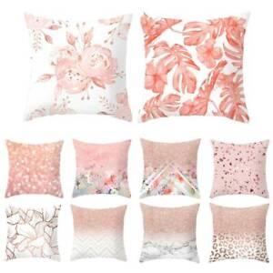 18-039-pink-velvet-Art-Pillow-Case-Sofa-Car-Waist-Throw-Cushion-Cover-Home-Decor-SP