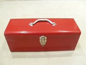 Rare-BNIB-Orig-Socket-Set-in-Red-Tool-Box-Fleet-Challenger-Vintage-1970-039-s