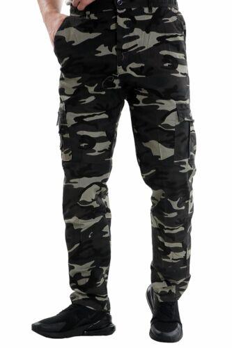 NUOVA Linea Uomo Termico Foderato Esercito Mimetico Pantaloni Sportivi Pantaloni Caldo Inferiore Pantaloni