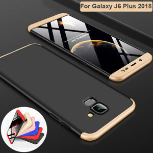 new styles 5254f b73ea Details about 360 Full Cover Hybrid Armor Case for Samsung Galaxy A6 A8 J4  J6 Plus 2018 Shell