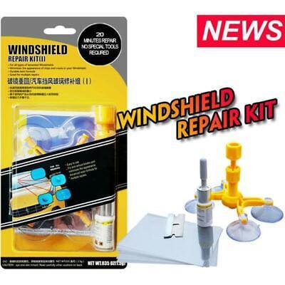 Car Windshield Windscreen Repair Fix Kits DIY Wind Glass Chip Truck Crack Set
