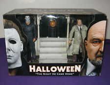 NECA Halloween The Night He Came Home Box Set Michael Myers Dr. Loomis Mint
