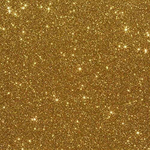 """Old Gold 10/""""x12/"""" 3-pack Siser Glitter Iron-on Heat Transfer Vinyl Sheets"""