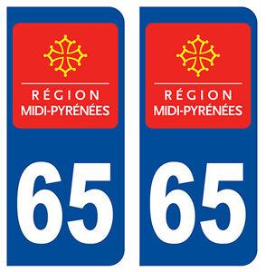 73 Savoie Departement Immatriculation 2 X Autocollants Sticker Autos Auto, Moto – Pièces, Accessoires