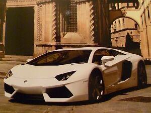 2013 Lamborghini Gallardo 50th Anniversary Picture Poster RARE Awesome L@@K