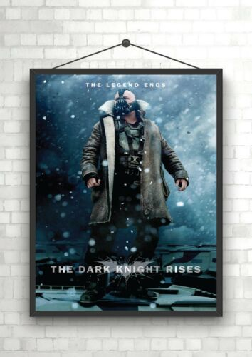 The Dark Knight Rises Bane Classic Large Movie Poster Print A0 A1 A2 A3 A4 Maxi