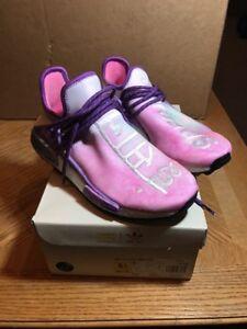 00a8be88dce27 Adidas PW HU HOLI NMD MC pink sz 6.5 Pharrell human race Brand New ...